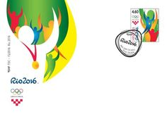 Rio 2016 Olympic stamp Croatia First Day Cover