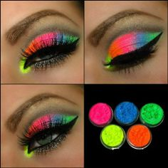 5 MYO Ultra Bright Remix Shimmer Color Set Eyeshadow Pigment Mica Cosmetic Mineral Makeup Limited Color Edition 3 Gram Size (You...