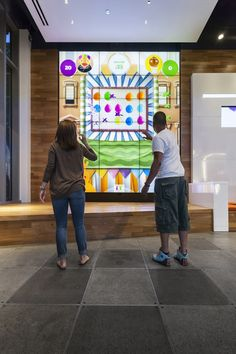 This quirky and unique experience affords customers at AT&T's flagship experience store in Chicago the opportunity to play some fun and entertaining carnival-style games on a massive scale. The…