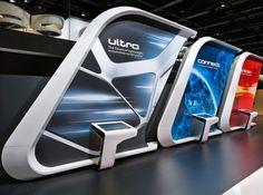 Futuristic Interior, Audi - MIAS Moskau 2012 | Schmidhuber
