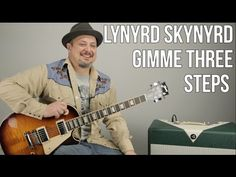 Lynyrd Skynyrd - Gimme Three Steps - Guitar Lesson - How to Play on Guitar Learn Guitar Chords, Easy Guitar Songs, Guitar Chord Chart, Guitar Tips, Guitar Lessons, Guitar Solo, Music Guitar, Playing Guitar, Guitar Notes