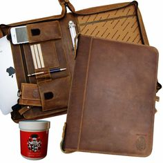 Your place to buy and sell all things handmade Ipad, Leather Ring, Leather Fanny Pack, Ring Binder, Everyday Carry, Messenger Bag, Brown Leather, Satchel, Baron