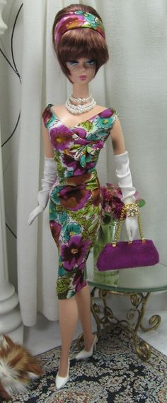 Plum Smart for Silkstone Barbie and similar by MatisseFashions, $70.00