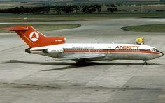 Ansett Airlines VH-RMF Boeing 727