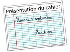 affiche présentation cahier du jour School Organisation, Classroom Organization, Presentation, Cycle 3, French Classroom, Flexibility, Bullet Journal, Teaching, School