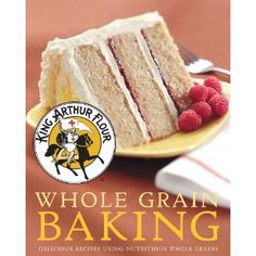 King Arthur Flour Whole Grain Baking: Delicious Recipes Using Nutritious Whole Grains.  The ultimate resource for baking with whole grain.  I thought I was ordering the original King Arthur Flour Baker's Companion when I ordered this from my book club...but I'm totally pleased with this!  Recipes for everything..waffles, cookies, cakes, breads..but made healthier with whole grains.  =)