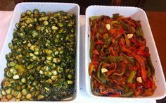 Peperoni e zucchine #vegetables #trastevere #bio