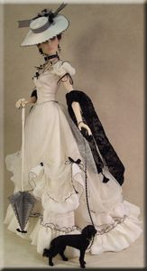 Crawford Manor Collections Page Victorian Gown, Victorian Dolls, Victorian Fashion, Barbie Dress, Barbie Clothes, Barbie Doll, Vintage Barbie, Vintage Dolls, Moda Barbie
