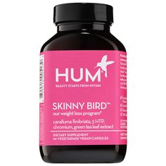 Tomorrow's beauty on Sephora's radar today:  Hum Nutrition's Skinny Bird Supplements combines four targeted solutions for successful weight loss. #SephoraFinds