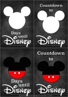 Countdown {Printable} Disney Countdown {Printable} - A Pumpkin And A Princess MoreDisney Countdown {Printable} - A Pumpkin And A Princess . Disneyland Countdown, Disney World Countdown, Day Countdown, Disneyland Vacation, Disney World Vacation, Disney Vacations, Disney Trips, Disneyland Ideas, Disney Cruise