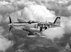 Number three P-51D-5-NA 44-13xxx, E2*A, Sky Bouncer. (U.S. Air Force)