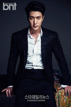 Jo Hyun Jae Looking Hot and Broody in New BNT International Pictorial Hyun Jae, Jung Suk, Broody, Straight Guys, Dream Guy, Korean Actors, A Good Man, My Boys, Japanese