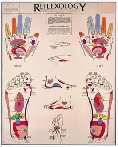 Reflexology. I love how God's design connects everything!