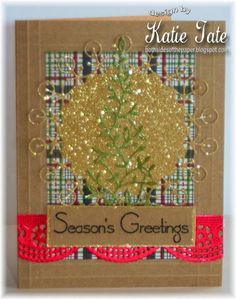 Quick and Easy Holiday Cards with Katie Tate -Project ideas using your Scor-Pal