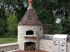 Outdoor Kitchen Bars, Pizza Oven Outdoor, Outdoor Cooking, Outdoor Kitchens, Wood Oven Pizza, Pizza Oven Fireplace, Wood Burning Oven, Wood Fired Oven, Bread Oven