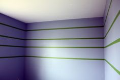 IHeart Organizing: First layer of paint: Behr's Premium Ultra Paint/Primer in WindSurf.  It's more gray than blue.