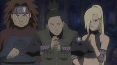 Ino, Shikamaru and Choji - Naruto Sasuke Sakura, Naruto Shippuden Sasuke, Naruto Kakashi, Anime Naruto, Hinata, Naruhina, Team 10 Naruto, Shikamaru Wallpaper, Naruto Wallpaper