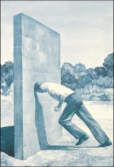 Mark Tansey - Short History of Modernist Painting (part), 1982