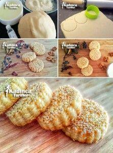 Hayat Kurabiyesi Recipe, How To - # Subway Cookie Recipes, Turkey Cake, Cake Recipes, Dessert Recipes, Macaron Recipe, Recipe Recipe, Sweet Cookies, Bread And Pastries, Food Platters