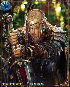 Lucius The Mercenary - Shingeki no Bahamut - Image - Zerochan Anime Image Board Live By The Sword, Shingeki No Bahamut, Goblin, Image Boards, Rage, Character Art, Concept Art, Sci Fi, Fantasy