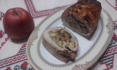 Retete cu margareta cismasiu: Rulada de porc cu castane si mere Baked Potato, Potatoes, Baking, Ethnic Recipes, Pork, Salads, Potato, Bakken, Backen
