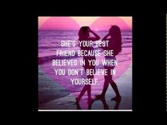 Best friend quotes and sayings, friendship is one of the most beautiful thing in life, so we share the best friendship quotes for you! Love My Best Friend, Best Friends For Life, Best Friend Goals, Best Friends Forever, True Friends, My Best Friend Quotes, Quote Friends, Amazing Friends, Crazy Friends