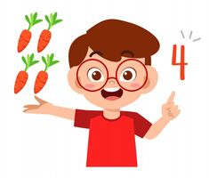 Math For Kids, Fun Math, Math Vector, Vector Clipart, Teacher Cartoon, Baby Yoga, Art Drawings For Kids, Math Numbers, Cute Images