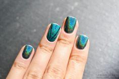 Energy - Jade Holografico (sun light) nail art