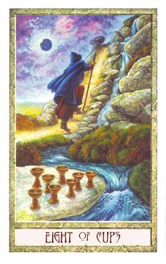 druidcraft tarot eight of cups - Pesquisa Google