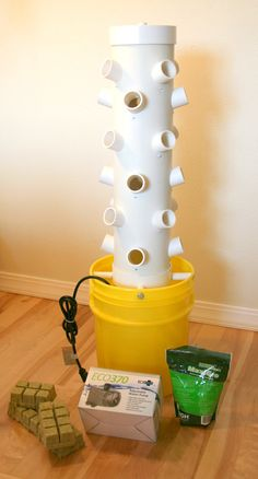 Hydroponic grow tower by Hydroponicfun on Etsy