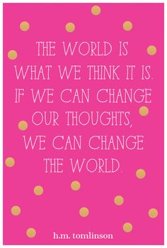 positive thinking. #quote