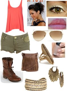 """""""tribal"""" by nsayarath ❤ liked on Polyvore"""