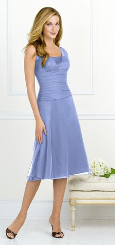 Bridesmaid dress idea...love the color, not crazy about the dress