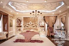 Дизайн-проект интерьера квартиры в ЖК Виноградный — Спальня. Фото 2017 - Дизайн квартир