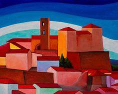 """"""" Longiano"""", Acrilico su tela 24x30 (2015)"""