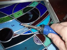 Soldering Water Lighting, Soldering, Stained Glass, Brazing, Welding, Stained Glass Panels, Leaded Glass, Welding Art, Fused Glass