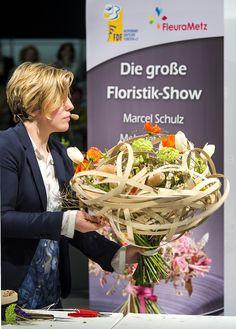 Live on stage Spitzenfloristen aus aller Welt zu Gast beim Fachverband Deutscher Floristen auf der Internationalen Pflanzenmesse IPM ESSEN 2016 Foto: R. Schimm, Messe Essen