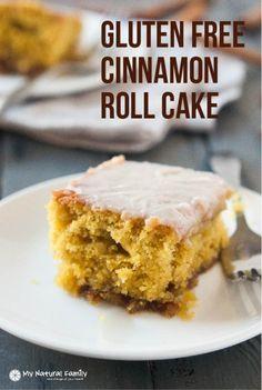The Best Gluten Free Cinnamon Roll Cake Recipe