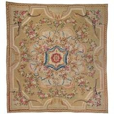 French Aubusson Carpet, 18th Century