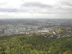 Stuttgart - Blick vom Fernsehturm