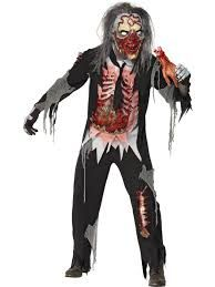 Zombie Decayed Man Costume, features a top, trousers, gloves and mask. The perfect gory zombie costume you were looking for! From our Halloween Costumes range. Latex Halloween Masks, Halloween Costumes For Sale, Halloween Outfits, Cool Costumes, Zombie Costumes, Halloween 2020, Zombie Fancy Dress, October Celebrations, Male Chest