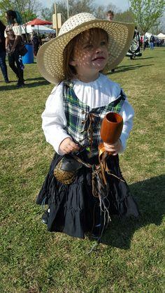 Renaissance fair costume for little girls