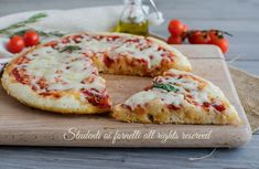 Pizza E Pasta, Pizza Pizza, Focaccia Pizza, Pizza Recipes, Bagel, Vegetable Pizza, Italian Recipes, Food Porn, Food And Drink