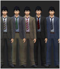 Simista: Cheap Mens Business Suits Unlocked • Sims 4 Downloads