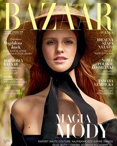 Model Magdalena Jasek covers the June 2018 issue of Harper's Bazaar Poland. Kara Becker styles Magdalena in Chanel, Self-Portrait, Dolce Gabbana and more for images by Magdalena Luniewska Fashion Magazine Cover, Fashion Cover, Magazine Covers, Editorial Photography, Photography Tips, Fashion Photography, Harpers Bazaar, Photos Of Women, Covergirl