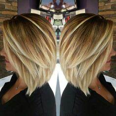 Inverted Blonde Fine Hair Bob Haircut