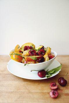 summer salad: recipe here