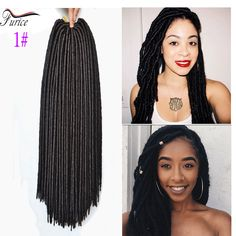 Aliexpress.com : Buy 14''18''Cheap Hair Bundles Faux Locs Crochet Braids Faux Dread Locs Hair Synthetic Dreadlock Extensions #613 Blonde African Hair from Reliable dreadlock wig suppliers on furice hair Store