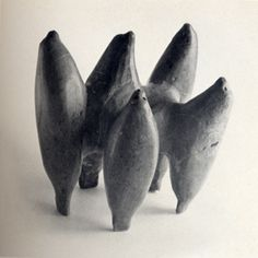 """Inuit sculpture. Image from """"Sculpture/ Inuit- Sculpture of the Inuit: Masterworks of the Canadian Arctic"""" by Taylor, Swinton, Houston"""