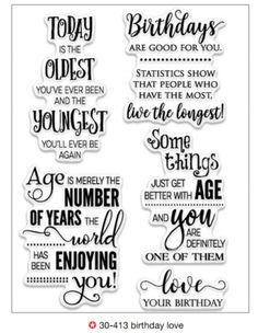 Birthdays Sentiments Birthday Verses For Cards Card Messages Happy